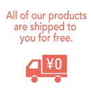 All items free shipping
