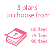 5 plans to choose from